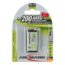 Acumulator 9V / 200 mAh - Ansmann