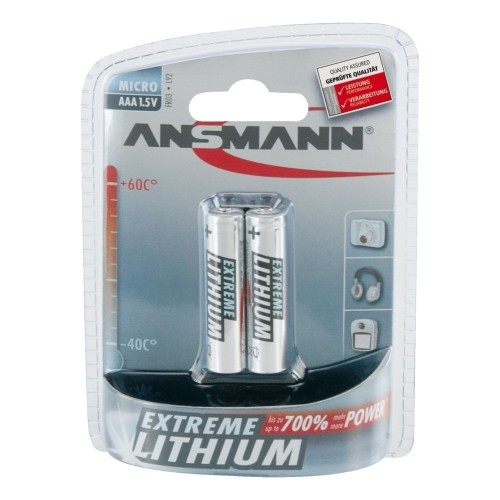 Baterii Litiu  AAA / LR03 - Ansmann