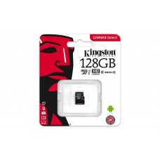 Card de memorie Kingston SDXC, 128GB, Class 10