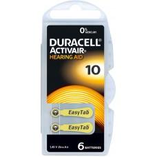 Baterii aparate auditive tip10 PR70- Duracell