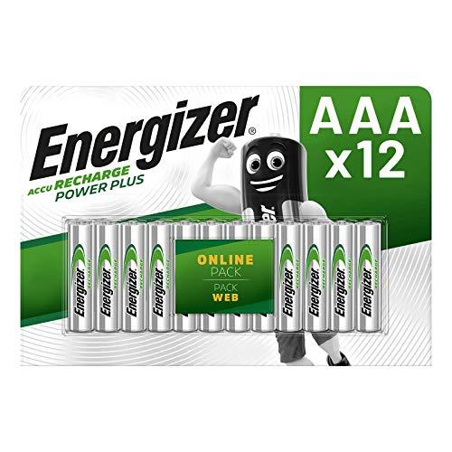 Acumulatori AAA /HR03, 500 / 550 mAh,Ni-Mh, Ready to use- Energizer, 12 buc