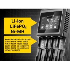 Incarcator Acumulatori Li-Ion, Lithium FEPO4, Ni-MH -Everactive UC 4000