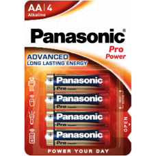 Baterii Super Alkaline Pro Power AA /LR6 - Panasonic