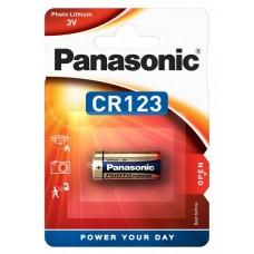Baterie CR123 - Panasonic