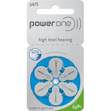 Baterii auditive Power One p675