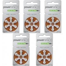 Baterii auditive P312 - PowerOne / 30 buc