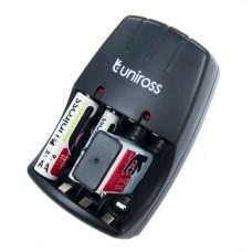 Incarcator universal, acumulatori 9V / AA / AAA - Uniross Compact 9V