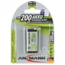 Acumulator Ansmann 9V - 200 mAh