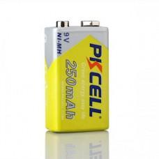 Acumulator  9V / 250 mAh PKCELL