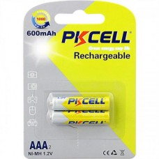 Acumulatori AAA ,600 mAh - PKCELL / 2 buc