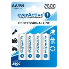Acumulatori Profesionali AA 2600 mAh -Everactive