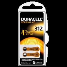 Baterii aparate auditive tip 312 PR41- Duracell