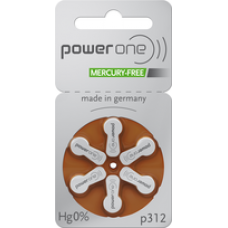 Baterii auditive Power One p312