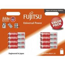 Baterii Alkaline LR03 / AAA - Fujitsu 8/BL.UP