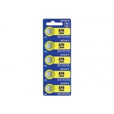 Baterie A76, LR44,AG13 - Sony / 5buc