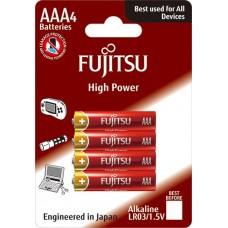 Baterii Super Alkaline AAA / LR03 - Fujitsu 4/BL