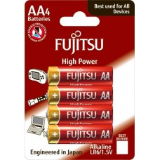 Baterii Super Alkaline AA / LR6 - Fujitsu 4/BL